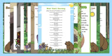Songs and Rhymes Resource Pack to Support Teaching on Bear Hunt