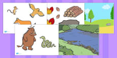 Australia - The Gruffalo Story Cut Outs