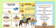 Humpty Dumpty Sensory Resource Pack