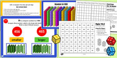 Year 3 Numbers to 1000 Lesson 3 Teaching Pack