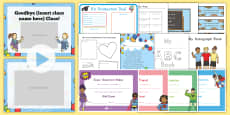 End of School Year K-2 Resource Pack