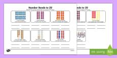 Number Bonds Stories Activity Sheet