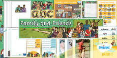 PlanIt - Year 5 French - Family and Friends Additional Resources