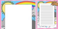 Weather Decorative Page Border