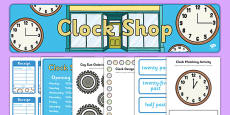 Clock Shop Role Play Pack
