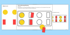 Workstation Pack - Shape Matching Activities Set 2