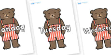 Days of the Week on Little Bear
