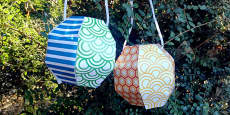 Australia - Chinese New Year Paper Lantern Craft Activity