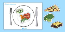Healthy Eating Meal Activity Polish
