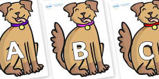 A-Z Alphabet on Dogs