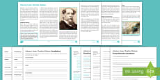 * NEW * Literary Lives: Charles Dickens Differentiated Reading Comprehension Activity