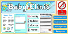 Baby Clinic Role Play Pack