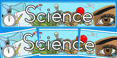 Australia - Science Display Banner