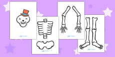 Australia - Make a Moving Skeleton Large to Support Teaching on Funnybones