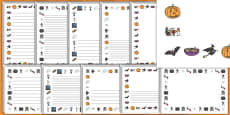 Halloween Page Borders
