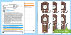 * NEW * What's the Time? Adult Input Plan and Resource Pack