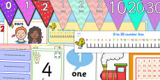 Number and Place Value Display Pack KS1 Year 1
