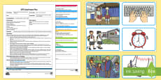 * NEW * Who Took the Biscuits? Adult Input Plan and Resource Pack