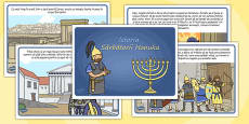 The Story of Hanukkah Romanian