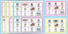 Nature Bingo Summer Activity Pack