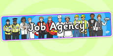 Job Agency Role Play Banner