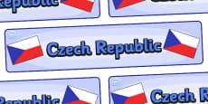 Czech Republic Display Banner