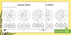 Ostereier Addition und Subtraktion Mathe Profi- Aufgaben