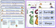 EYFS Lesson Plan and Enhancement Ideas to Support Teaching on Aliens Love Underpants