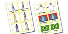 Rio de Janeiro Tourist Information Role Play Badges