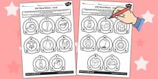 CVC Word Wheel Activity Sheets mixed