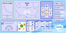 PlanIt Y5 Properties of Shapes Display Pack