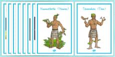 Maori Gods Display Posters