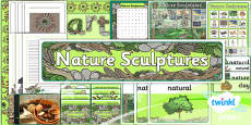 PlanIt - Art KS1 - Nature Sculptures Unit Additional Resources