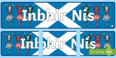 Inverness (Inbhir Nis) Display Banner Gaelic
