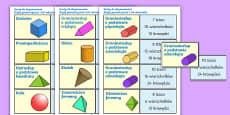 Karty Bryły geometryczne i ich własności
