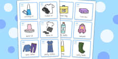 Special Needs Commuinication Cards Things to Remember Girl - Australia