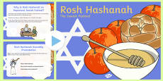 Rosh Hashanah Assembly Presentation USA