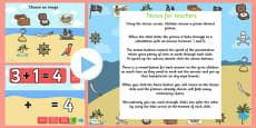 Pirate Themed Addition PowerPoint