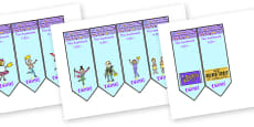 Editable Bookmarks to Support Teaching on Charlie and the Chocolate Factory