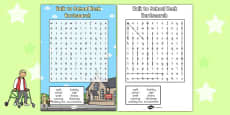 Walk to School Week Wordsearch