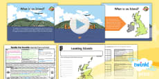 PlanIt - Geography Year 2 - Beside the Seaside Lesson 5: Islands Everywhere Lesson Pack