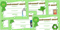 Environment Certificates