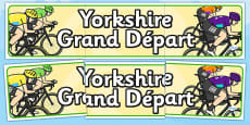 Yorkshire Grand Départ Display Banner