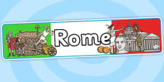 Rome Role Play Banner