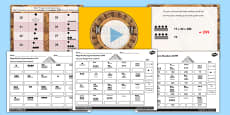 The Mayan Civilization Number System Lesson Teaching Pack