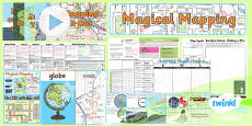 PlanIt - Geography Year 2 - Magical Mapping Unit Pack