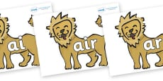 Phase 3 Phonemes on Lions