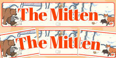 The Mitten Display Banner