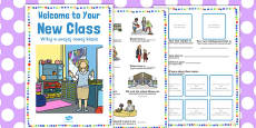 Welcome to Your New Class Booklet Polish Translation