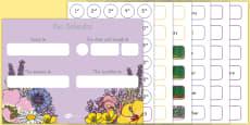 Floral Display Calendar